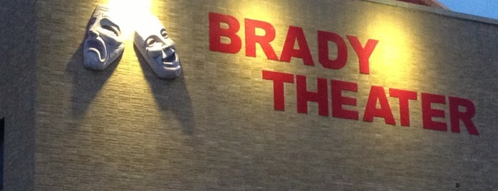 Brady Theater is one of Increase your Tulsa City iQ.