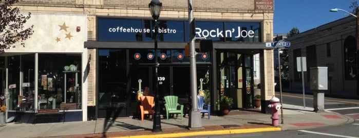 Rockn' Joe Coffeehouse & Bistro is one of places to go around montclair.