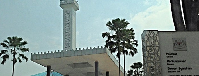 National Mosque is one of masjid.