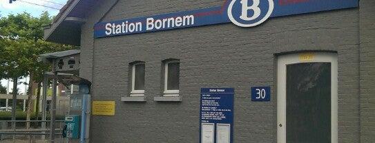 Station Bornem is one of Bijna alle treinstations in Vlaanderen.