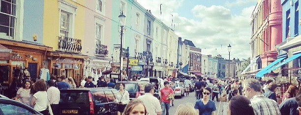 Portobello Road Market is one of Best places in London, United Kingdom.