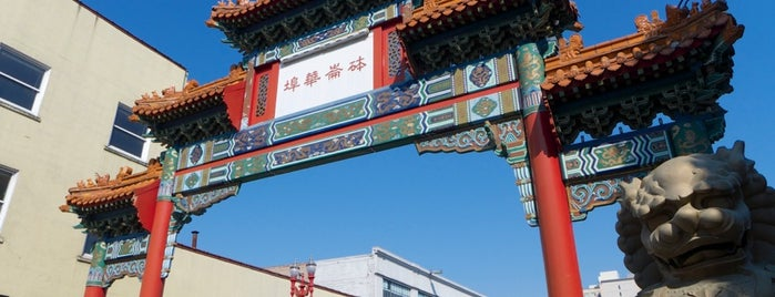 Chinatown Gate is one of My Portland.