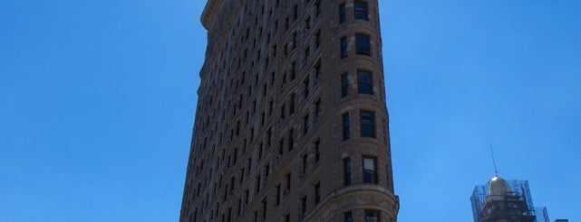 Flatiron Building is one of New York City.
