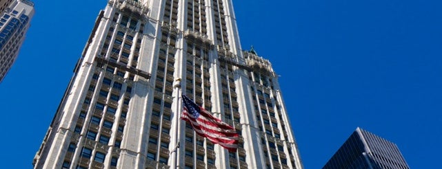 Woolworth Building is one of New York City.