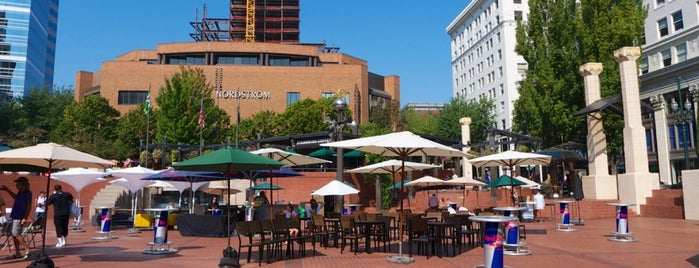 Pioneer Courthouse Square is one of My Portland.