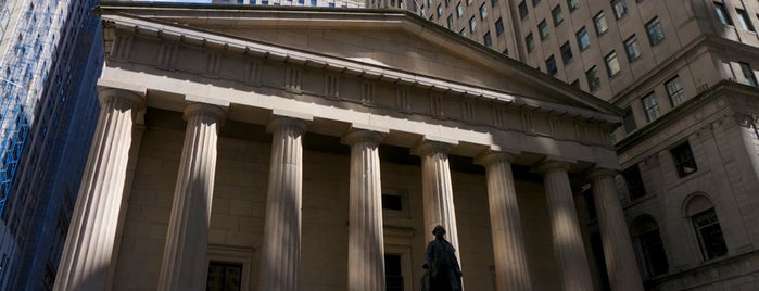 Federal Hall National Memorial is one of New York City.