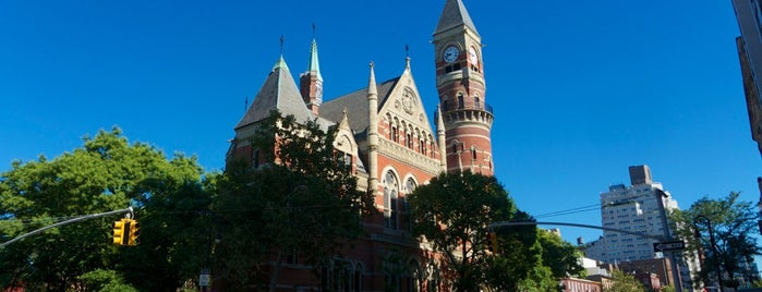 New York Public Library - Jefferson Market is one of New York City.