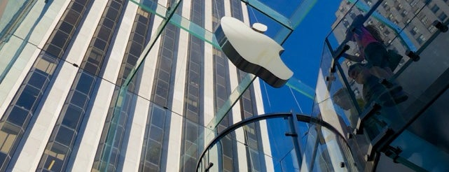 Apple Fifth Avenue is one of New York City.