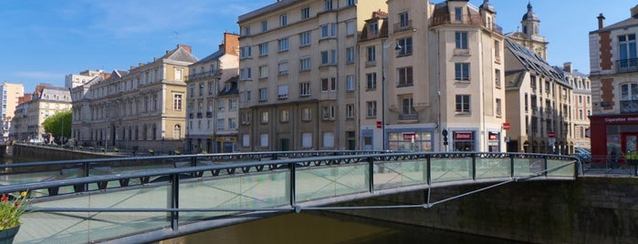 Passerelle Saint-Germain is one of The best after-work drink spots in RENNES.