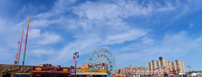 Coney Island Beach & Boardwalk is one of New York City.