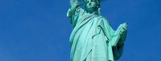Statue de la Liberté is one of New York City.
