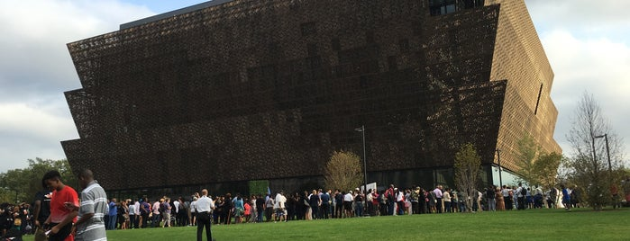 National Museum of African American History and Culture is one of Dc.