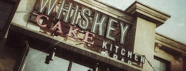 Whiskey Cake Kitchen & Bar is one of Metroplex.