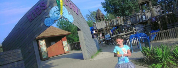 Kids cove is one of places i frequent.