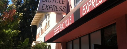 Bicycle Express is one of Velocipede Badges-10CA.