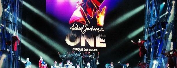 Michael Jackson ONE Theater is one of Cirque du Soleil Las Vegas.