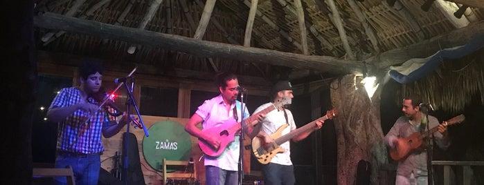 Zamas Restaurant + Bar is one of Tulum.