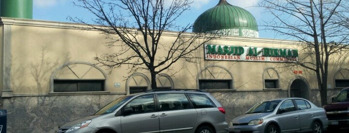 Masjid Al-Hikmah is one of USA NYC QNS Astoria.
