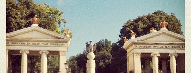 Villa Borghese is one of ♥Rome♥.