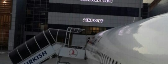 Batman Havalimanı (BAL) is one of Havalimanları.