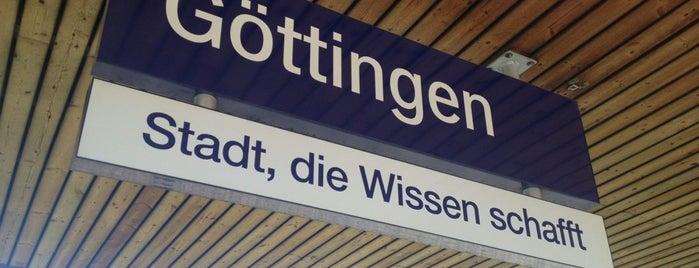 Bahnhof Göttingen is one of Bahnhöfe Deutschland.