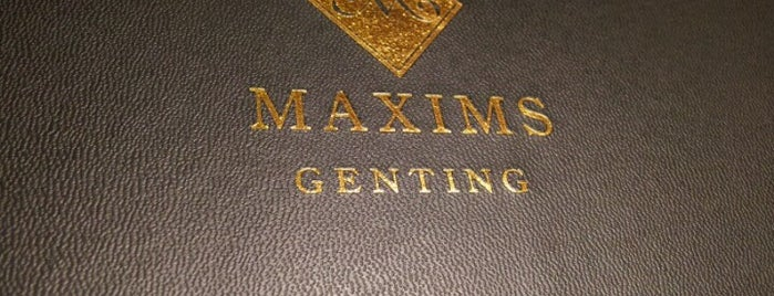 Maxims is one of @Bentong, Pahang.