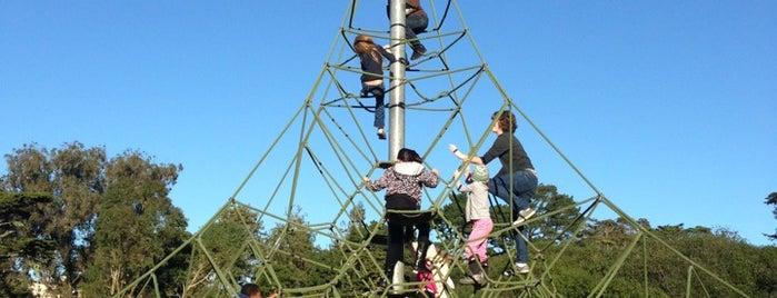 Golden Gate Park Children's Playground is one of around house.