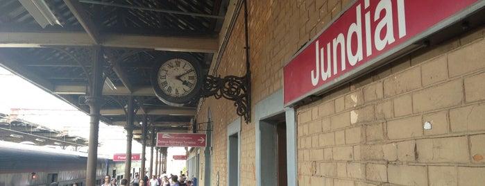 Estação Jundiaí (CPTM) is one of Transporte.