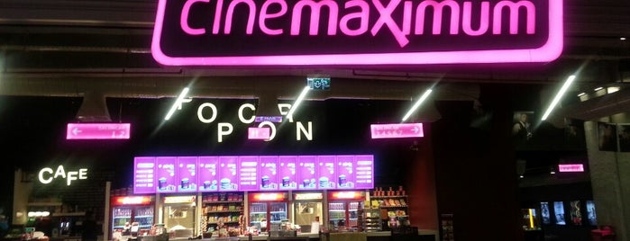 Cinemaximum is one of Sinema Kampanya.