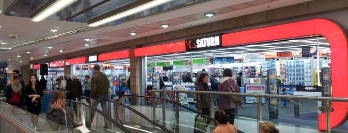 Saturn is one of Shopping in Leipzig.