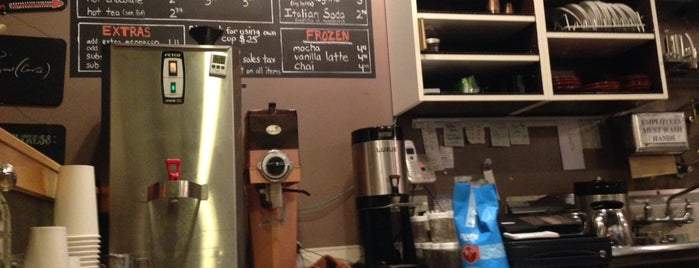 Once Over Coffee Bar is one of Austin 2014.