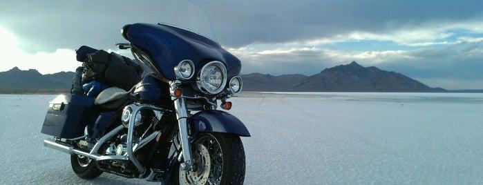 Bonneville Salt Flats International Speedway is one of road trip u.s.a..
