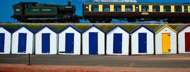 Goodrington Sands Beach is one of Devon.