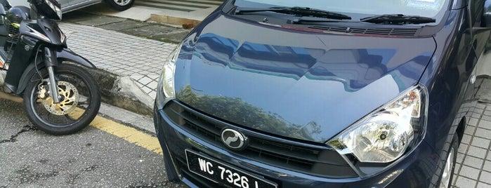 PERODUA (merpati Hasil Sdn Bhd) is one of New People.