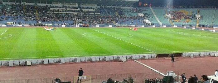Vasil Levski National Stadium is one of Europa League Stadiums.