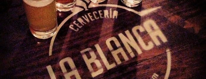 Cervecería La Blanca is one of Guadalajara . México.