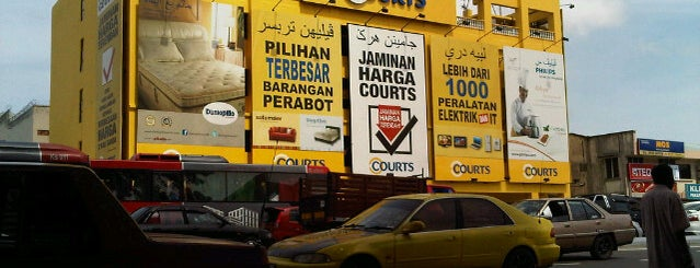Courts Mammoth is one of Top 10 favorites places in Kota Bharu, Malaysia.