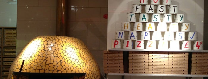 Franco Manca is one of London Olympics: Where to Eat and Drink.