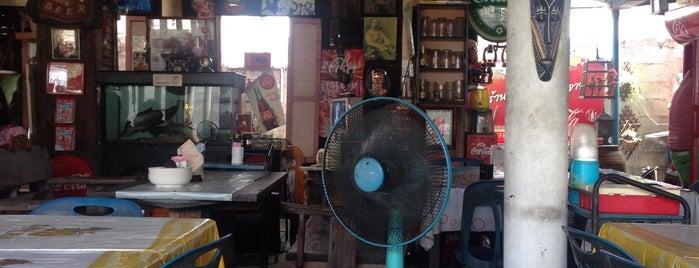 ร้านส้มตำ ไก่ย่างอบฟาง is one of All-time favorites in Thailand.