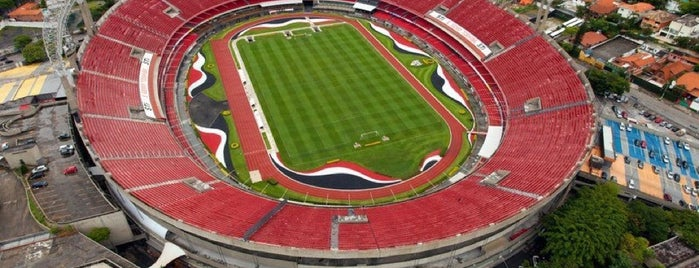 Estádio Cícero Pompeu de Toledo (Morumbi) is one of SAMPA.