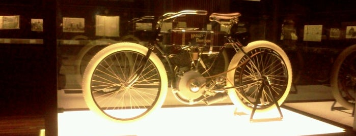 Harley-Davidson Museum is one of A Traveler's Guide to Milwaukee.
