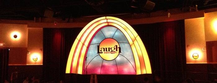 Laugh Factory Long Beach is one of Lover time.