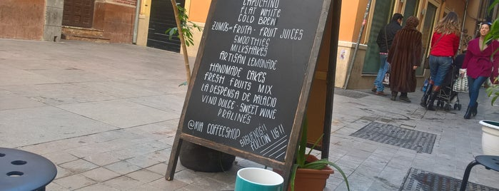 Mia coffee shop is one of Malaga.