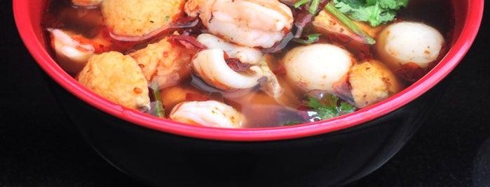 K Tasty Hot Spicy Dip is one of NYC's Best Dumplings.