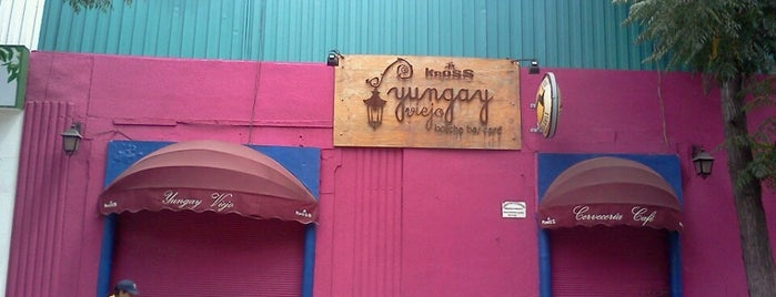 Restaurant Yungay Viejo is one of City Hero.