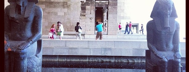 Temple of Dendur is one of Tourist attractions NYC.