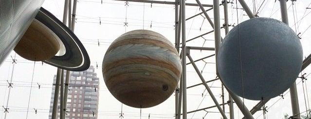 Hayden Planetarium is one of New York.