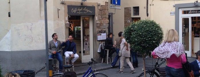 Caffè degli Artigiani is one of Scoprendo Firenze.