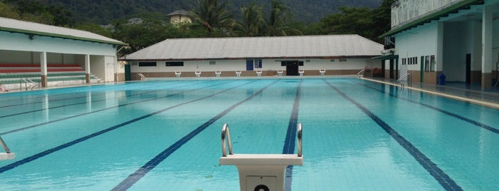 Male Swimming Pool is one of IIUM.