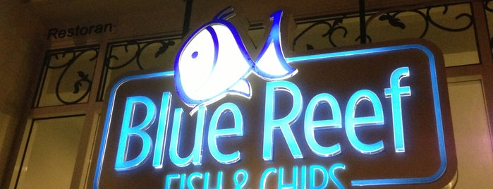 Blue Reef Fish & Chips is one of Favorite Food.